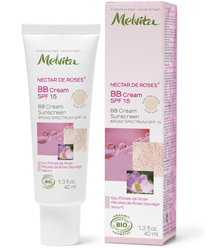 Melvita BB cream SPF15 Rose des sables 40 ml