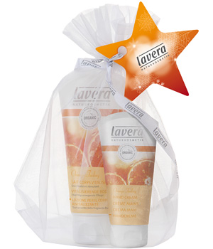 Lavera Coffret Gel douche Orange Feeling Body SPA 150ml + crème mains 50ml