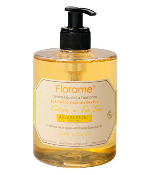 Florame Savon liquide Citron Tea Tree Assainissant 500ml