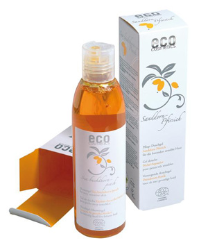 Eco Cosmetics Gel douche Argousier Pêche 200ml