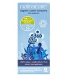 Hygiene naturelle Natracare 16 Tampons normaux avec applicateur en coton bio