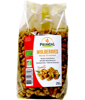 Primeal Mûres blanches (Mulberries) 180g