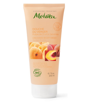 Melvita Douche du verger Pulpe de fruits tendres 200ml