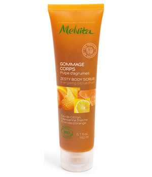 Melvita Gommage corps pulpe d'Agrumes 150ml