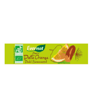 Evernat Barres de céréales Dattes Orange 40g