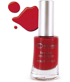 Couleur Caramel Vernis n°42 Rouge Poinsettia 8ml