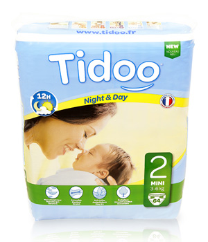 Tidoo 64 Couches MINI (T2)   3/6kg