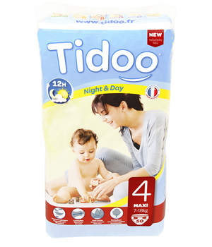 Tidoo 50 Couches MAXI (T4)   7/18kg