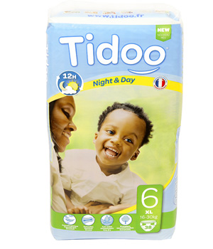 Tidoo 38 Couches XL (T6)   16/30kg