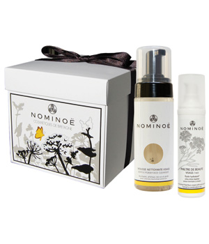 Nominoe Coffret soin visage Nominoë: Mousse nettoyante + Philtre de beauté 200ml
