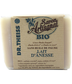 Dr.Theiss Savon Lait d'Anesse artisanal 120g