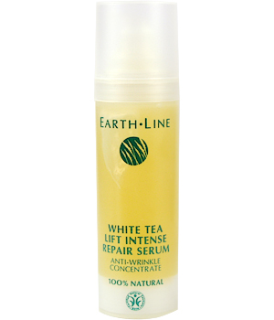 Earth Line Sérum réparateur au thé blanc concentré anti rides 30ml