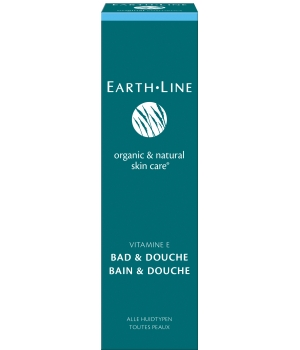 Earth Line Gel Bain et douche à la vitamine E 200ml