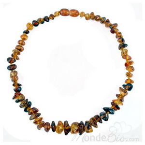 La boutique de L'Ambre Collier d'ambre junior Muticolor