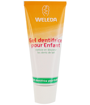 Weleda Gel dentifrice enfant dents de lait 50ml