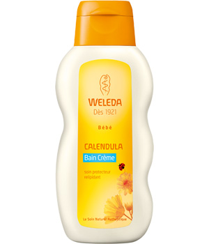 Calendula baby cream bath