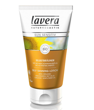 Lavera Autobronzant naturel SUN Sensitiv  150ml