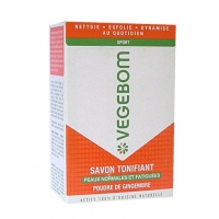 Vegebom Savon Tonifiant Pain 100g