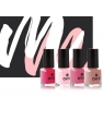Maquillage bio Mondebiobox Coffret MondeBio Box vernis déclinaison de rose