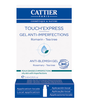 Cattier Touch'Express concentré Actif gel anti imperfections 5ml