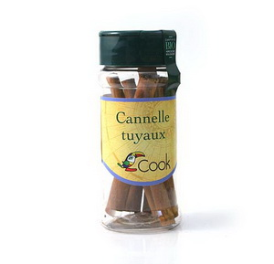 Cook Cannelle tuyaux 12g