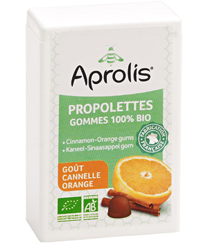 Aprolis Propolettes propolis Cannelle Orange 50ml