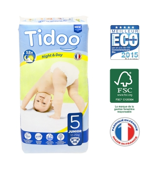 Tidoo 46 Couches JUNIOR (T5)   12/25kg