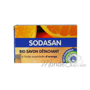 Sodasan Savon détachant naturel à l'orange 100g