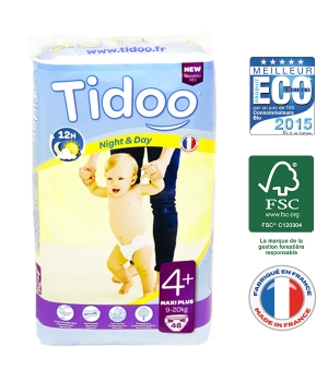 Tidoo 48 Couches MAXI PLUS (T4+)   9/20kg