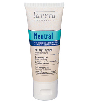 ancien gel nettoyant avec facteur hydratant naturel neutral lavera 75 ml. Black Bedroom Furniture Sets. Home Design Ideas