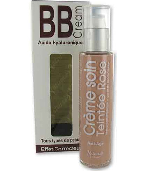 Naturado BB cream à l'Acide hyaluronique Rose 50ml