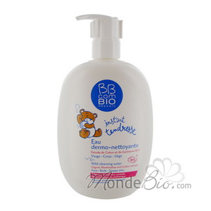 Baby skin cleansing water