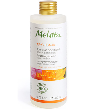Melvita Tonique apaisant Orange Pollen Aloe Vera Apicosma 200ml