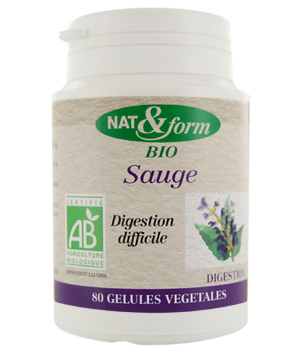 Nat et Form Sauge 80 gélules 220mg