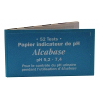 Dr.Theiss Papier indicateur pH urinaire Carnet de 52 tests