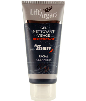 Lift' Argan For Men Gel nettoyant Visage désincrustant Lift Argan for Men 75ml