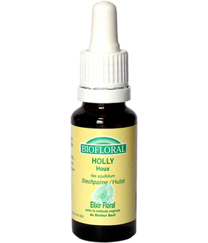 Biofloral Elixir Holly n° 15 Houx 20ml