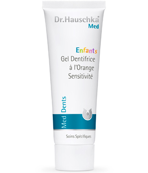 Dr. Hauschka Gel dentifrice à l'Orange Sensitivité pour enfants 50ml