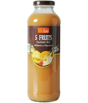 Vitabio Cocktail 5 Fruits 50cl