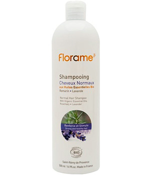Florame Shampoing cheveux normaux Lavande et Romarin 250ml