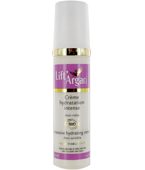 Lift' Argan Crème hydratation intense Anti rides Lift'Argan 50ml
