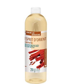 Cosmo Naturel Bain douche Esprit d'Orient Cannelle Orange 500ml