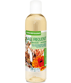 Cosmo Naturel Shampoing usage fréquent Miel Calendula Avoine 250ml