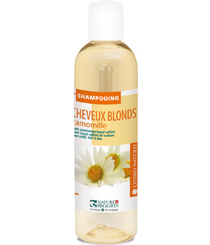 Cosmo Naturel Shampoing cheveux blonds Camomille 250ml