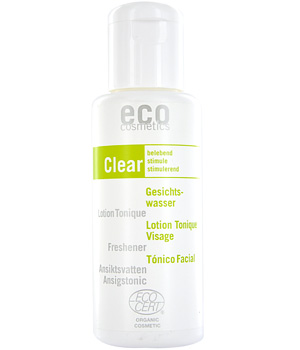 Eco Cosmetics Lotion tonique visage Orange et Olive 100ml