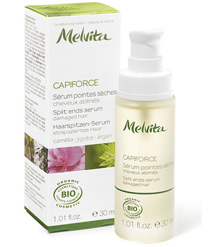 Melvita Capiforce Sérum pointes sèches Camelia Jojoba Argan 30ml DLUO 09/2014