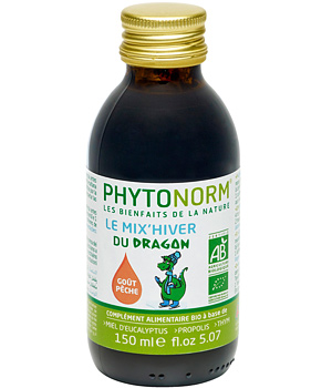 Phytonorm Le Mix'Hiver du dragon BIO Sans HE action curative 150ml