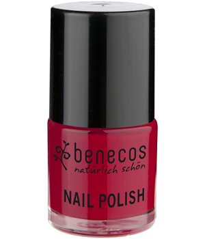 Benecos Vernis à ongles Vintage Red/ Rouge Tendance 9ml