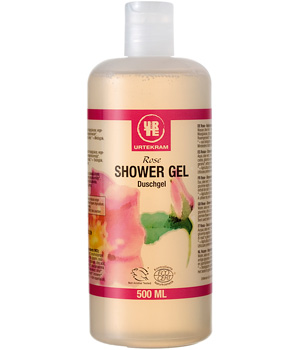 Urtekram Gel douche à la Rose 500ml