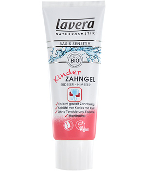 BASIS Children's tooth gel - Strawberry/Raspberry flavour